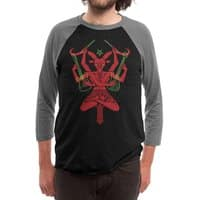 Lord of Metal - triblend-34-sleeve-raglan-tee - small view