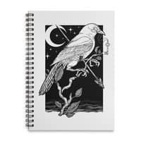 Night Crow - spiral-notebook - small view