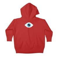 Lazy eye - baby-zip-up-hoody - small view