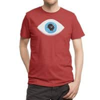 Lazy eye - mens-triblend-tee - small view