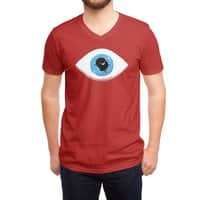 Lazy eye - vneck - small view