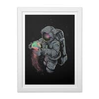 Jellyspace - white-vertical-framed-print - small view