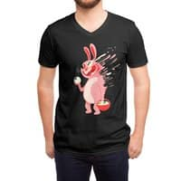 Egg hunting - vneck - small view