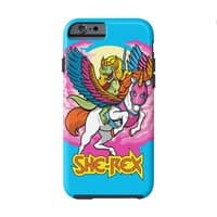 She-Rex: Prehistoric Princess of Power - double-duty-phone-case - small view