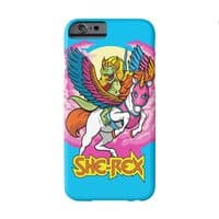 She-Rex: Prehistoric Princess of Power - perfect-fit-phone-case - small view