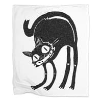 Black Cat - blanket - small view
