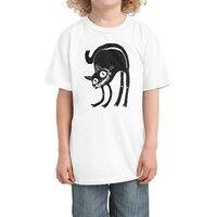 Black Cat - kids-tee - small view