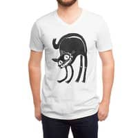 Black Cat - vneck - small view