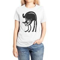 Black Cat - womens-extra-soft-tee - small view