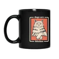 Dogs are... - black-mug - small view