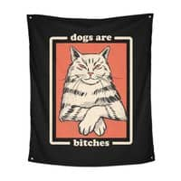 Dogs are... - indoor-wall-tapestry-vertical - small view