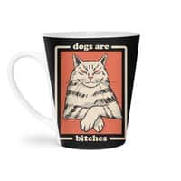 Dogs are... - latte-mug - small view