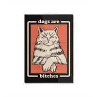 Dogs are... - vertical-mounted-aluminum-print - small view