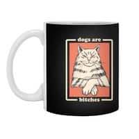 Dogs are... - white-mug - small view