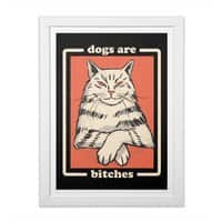 Dogs are... - white-vertical-framed-print - small view