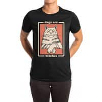 Dogs are... - womens-extra-soft-tee - small view