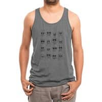 Gang of dogs - mens-triblend-tank - small view