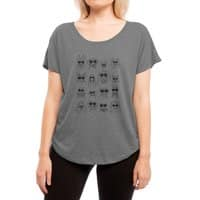 Gang of dogs - womens-dolman - small view