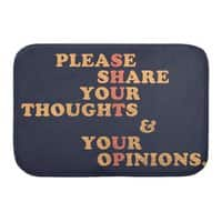 Shut Up And Talk - bath-mat - small view