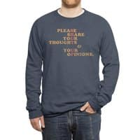 Shut Up And Talk - crew-sweatshirt - small view