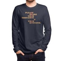 Shut Up And Talk - mens-long-sleeve-tee - small view