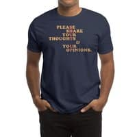 Shut Up And Talk - mens-regular-tee - small view