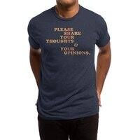 Shut Up And Talk - mens-triblend-tee - small view