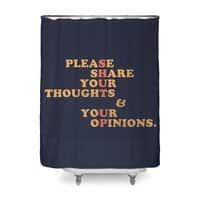 Shut Up And Talk - shower-curtain - small view