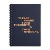 Shut Up And Talk - spiral-notebook - small view