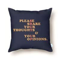 Shut Up And Talk - throw-pillow - small view
