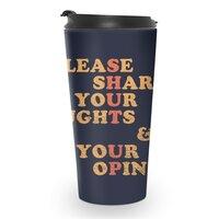 Shut Up And Talk - travel-mug - small view