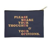 Shut Up And Talk - zip-pouch - small view