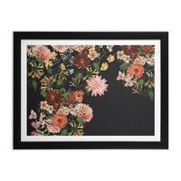 Garden - black-horizontal-framed-print - small view
