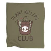 Plant Killers Club - blanket - small view