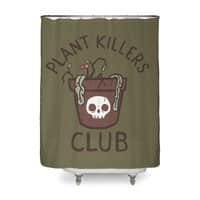Plant Killers Club - shower-curtain - small view