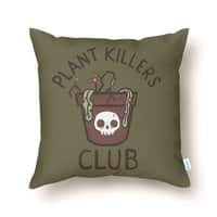 Plant Killers Club - throw-pillow - small view