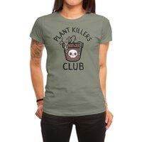 Plant Killers Club - womens-regular-tee - small view