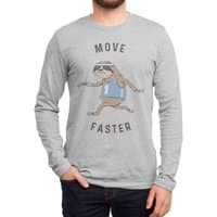 Move Faster - mens-long-sleeve-tee - small view
