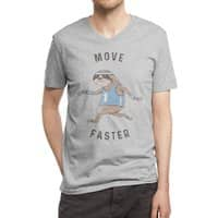 Move Faster - vneck - small view
