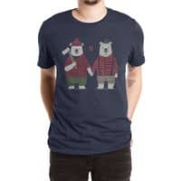 My Bear Valentine - mens-extra-soft-tee - small view