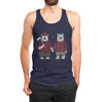My Bear Valentine - mens-jersey-tank - small view