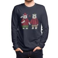 My Bear Valentine - mens-long-sleeve-tee - small view