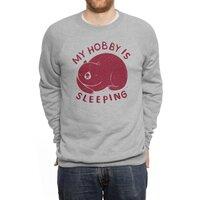my hobby is sleeping - crew-sweatshirt - small view