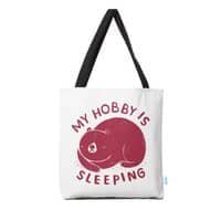 my hobby is sleeping - tote-bag - small view