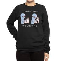 Strange Planet: I Found This It's Vibrating - crew-sweatshirt - small view