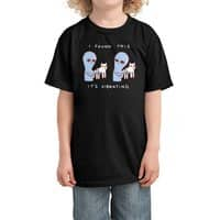 Strange Planet: I Found This It's Vibrating - kids-tee - small view