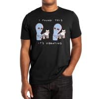 Strange Planet: I Found This It's Vibrating - mens-extra-soft-tee - small view