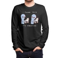 Strange Planet: I Found This It's Vibrating - mens-long-sleeve-tee - small view