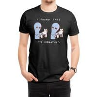 Strange Planet: I Found This It's Vibrating - mens-regular-tee - small view