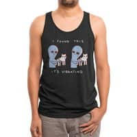 Strange Planet: I Found This It's Vibrating - mens-triblend-tank - small view